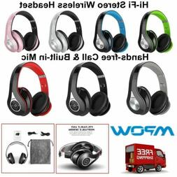 Mpow 059 H5 Bluetooth Headphones Over Ear Hi-Fi Stereo Wirel