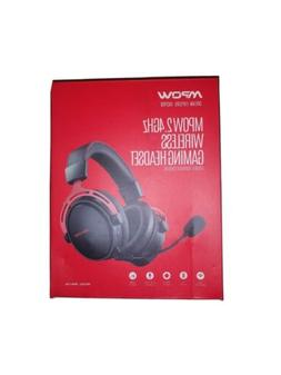 MPOW 2.4GHZ Wireless Gaming Headset Bluetooth Red/Black PS4