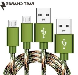 2 Pack CAMO Micro USB FAST Charger Cable for Beats by Dre Wi