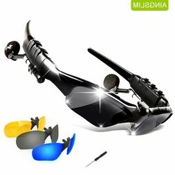 20Day Delivery Wireless Bluetooth Sunglass Headset Glasses w
