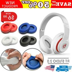 2X Soft Replacement Ear Pad Cup Cushion For Beats By Dr Dre