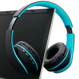 4 in 1 Foldable Wireless Stereo Super Bass Bluetooth Headpho