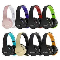 4in1 Wireless Bluetooth Stereo Headphones Wired Headset with
