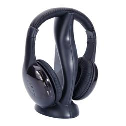 8 in 1 Wireless Headphones Headsets For FM Radio Mp3 Mp4 TV