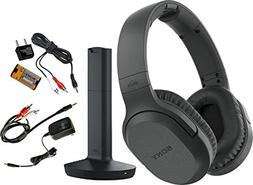 Sony RF995RK Wireless RF Headphones, Zonoz 6FT Stereo Audio