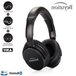 active noise cancelling headphones wireless bluetooth v4
