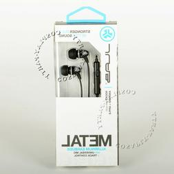 JLab Audio JBuds Metal In-Ear Earbuds with Universal Mic for