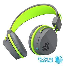 JLab Audio Neon Bluetooth On Ear Headphones, Folding with Un