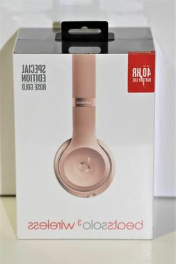 Beats by Dr. Dre Solo3 Wireless On the Ear Headphones - Rose