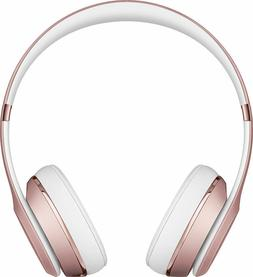 Beats by Dre Solo3 Wireless Over the Ear Headphones - Rose G