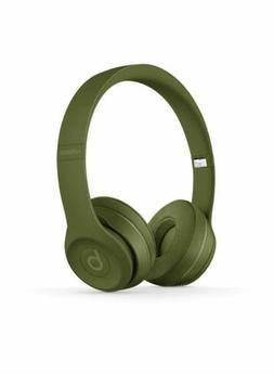beats solo3 wireless headphones turf green brand