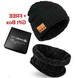 Bluetooth Beanie - Bluetooth Hat - Wireless Headphones Hat a