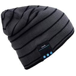 Mydeal Bluetooth Hat Adult Unisex Trendy Soft Warm Knit Slou