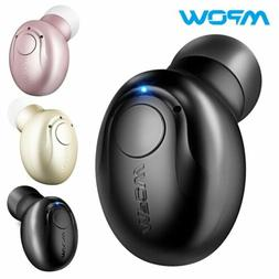 Mpow Bluetooth Headphone Wireless Mini Invisible Earpiece In