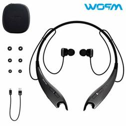 Mpow Bluetooth Headphone Wireless Neckband Headset for Cell