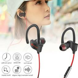 Bluetooth Headphones, Best Wireless Sport Earphones w/Mic IP