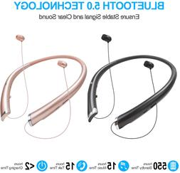 Wireless Headphones Headsets Earphone Neckband Headsets Neck