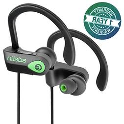 Edelin Bluetooth Headphones - Wireless Earbuds with Mic HD S