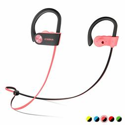 Bluetooth Headphones, Anbes Wireless Earbuds, IPX7 Waterproo