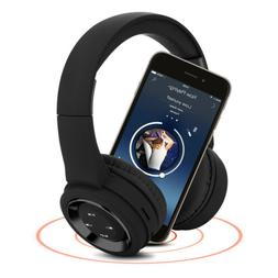 bluetooth headphones wireless headset over ear headphones