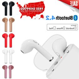 Bluetooth Headset Headphones For iPhone Android Samsung Earp