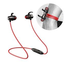 Bluetooth Magnetic Headphones with Noise Cancellation Mic ea