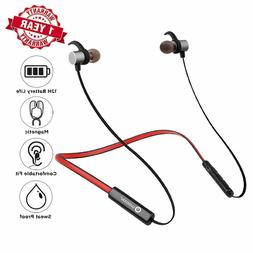 Bluetooth Sport Earbuds 12 Hour Battery Life & Mic Wireless