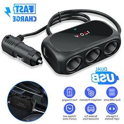 Bluetooth Wireless Car FM Transmitter AUX Stereo Receiver Ad