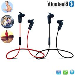 Bluetooth Wireless Headphones Sport Earbuds f Mobile Cell Ph