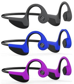 Bone Conduction Bluetooth 5.0 Open-Ear Headphones Sweat-proo