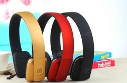 C35 Wireless Bluetooth Headphones On-Ear Style Mic for Calls