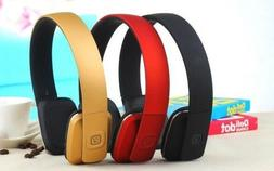 C35 Wireless Bluetooth Headphones On-Ear Style Mic for Phone