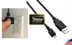chaRger Cable Wire Cord+PoWeR Wall Plug for Sony WH-1000XM2