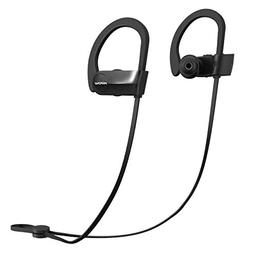 Mpow D7 Bluetooth Headphones IPX7 Waterproof, Richer Bass St