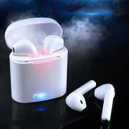 Dual Wireless Bluetooth Earphone Earbuds for Apple Airpods i