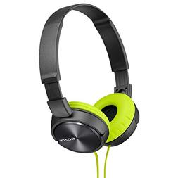Sony Dynamic closed-type headphones MDR-ZX310-H Lime Green/G