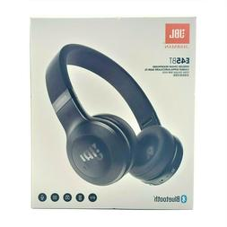 JBL E45BT Wireless On-Ear Headphones - Black