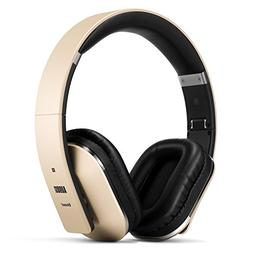 August EP650 Bluetooth Over Ear Wireless Stereo NFC 3.5mm He