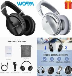 foldable bluetooth wireless over ear headphones active
