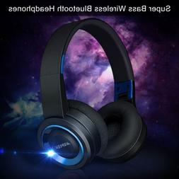 Foldable Wireless Headphones Bluetooth Headset Noise Cancell