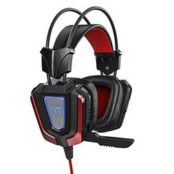 TaoTronics Gaming Headset with Noise Isolating Mic and LED L