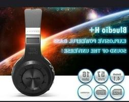 Bluedio H+ Bluetooth Wireless Headset mic miro SD port over