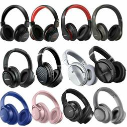 MPOW H1/H7/H16/H20 Wireless Headset Over Ear Headphones Blue
