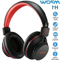 h1 upgrade bluetooth headphone over ear wireless