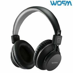 Mpow H1 Wireless Bluetooth 4.1 Headphones Foldable Stereo Ea