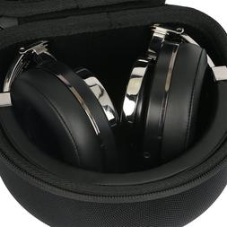 Headphone Hard Case for Bluedio T3  Extra Bass Wireless Blue