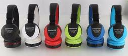 High performance Wireless headphone with built-in mic FM ste