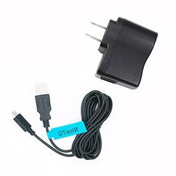 NiceTQ Replacement USB Power Charging Cord Cable for Sony WI