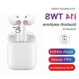 HOT!2019 i14 TWS Bluetooth 5.0 Earphone Wireless Earbuds S