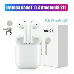 i12 TWS Wireless Earbuds Bluetooth5.0 Mini Earphone Headphon